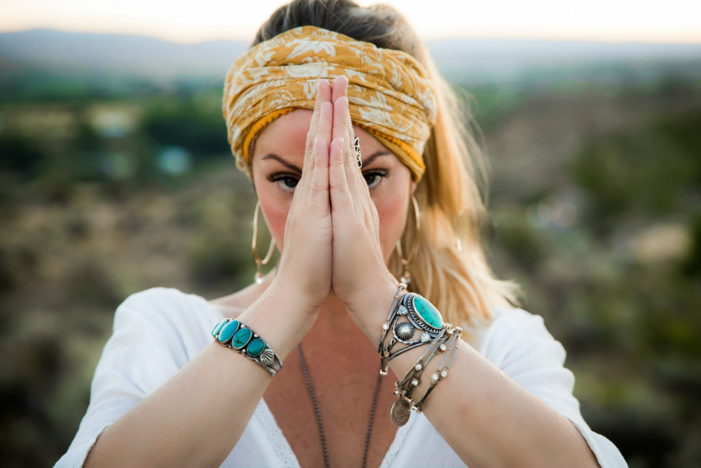 Kass Rose on Pineal Gland— Anjali Mudra